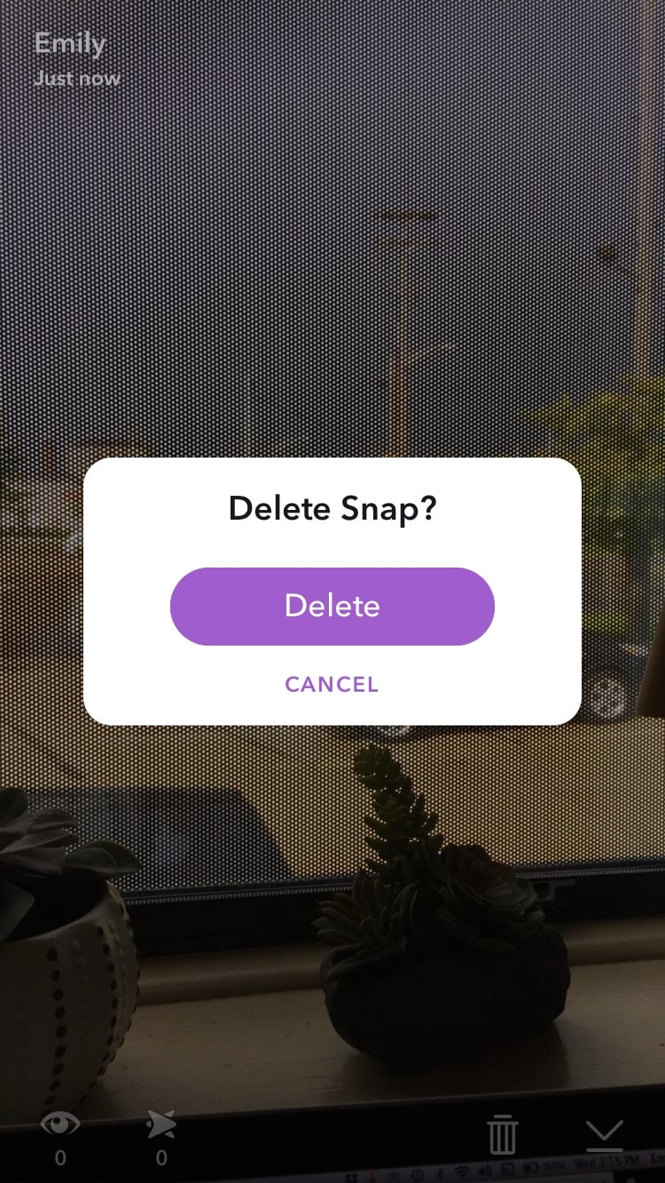 """Unlike Normal Snaps, You Can Delete Snaps From Your Story By Swiping Left  To Navigate To The €�stories"""" Page, Then Swipe Up You Will Be Able To See  Who Has"""